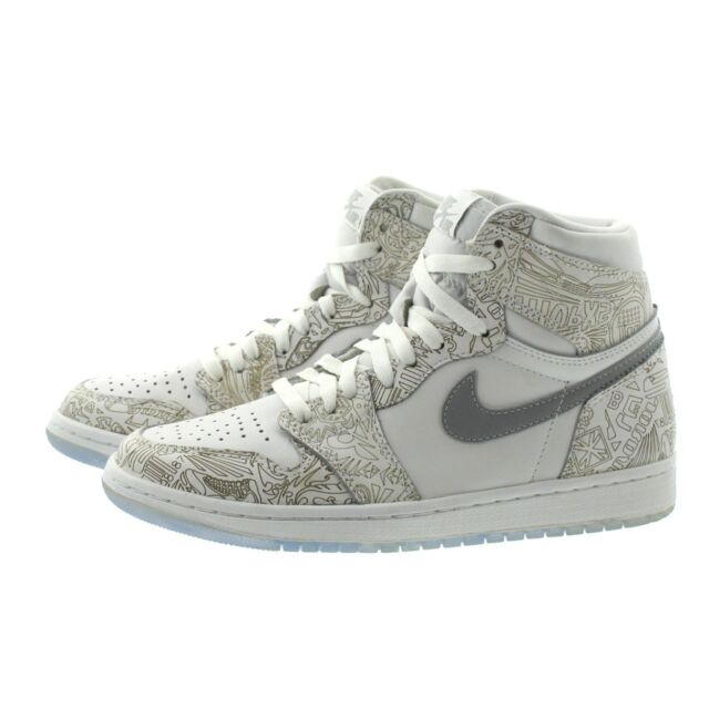 sale retailer d9d4d fcff8 Nike 705289 Mens Air Jordan 1 Retro OG Laser High Top Basketball Shoes  Sneakers