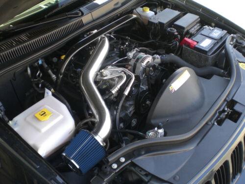 Black Blue long Air Intake kit for 2005-10 Jeep Grand Cherokee Commander 3.7L V6