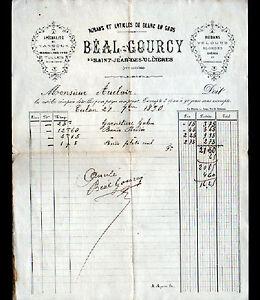 SAINT-JEAN-des-OLLIERES-63-RUBANS-amp-ARTICLES-de-BLANC-034-BEAL-amp-GOURCY-034-en-1890