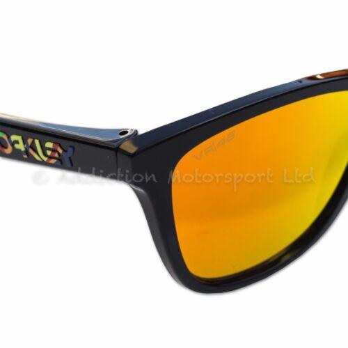 OAKLEY Frogskins Valentino Rossi VR46 Signature Prizm Sunglasses New 2018  Design 0728cc905050
