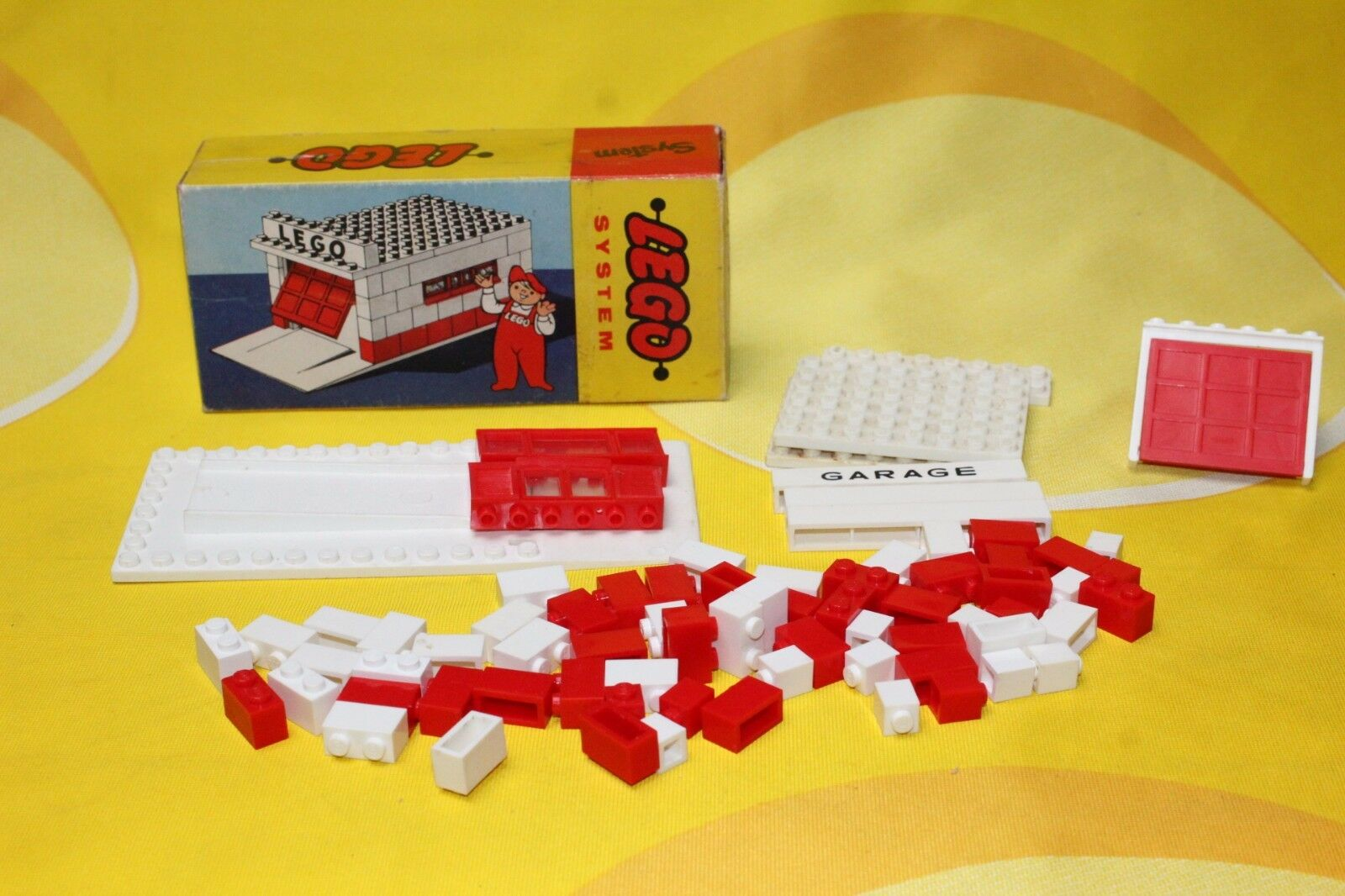 Lego - garage 236 mursten