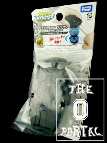 ThePortal0 TAKARA TOMY Beyblade BURST B-78 Black String Bey Launcher Right V.JP