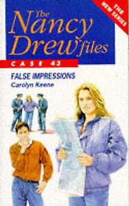 False-Impressions-Nancy-Drew-Files-Keene-Carolyn-Very-Good-Book