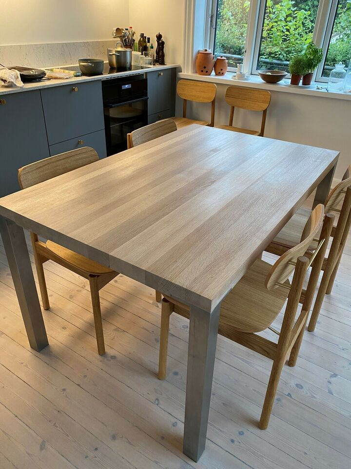 Spisebord, Egetræ, Bordpladen.dk klicclak