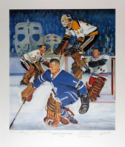 Signed-Bower-Cheevers-Hall-Worsely-Lithograph-Ltd-Ed-197-Original-Six