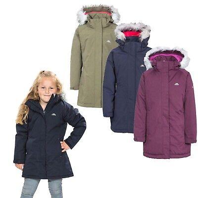 Trespass Amira Warm Padded Waterproof Winter Jacket Enfant