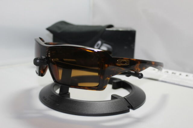 2c47494cd8c64 New Oakley Eyepatch Sunglasses 1.0 Brown Tortoise Bronze 03-578 ...