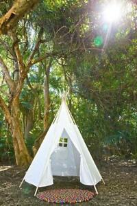 TeePee-Kids-1-5m-High-with-Wooden-Poles-and-Carry-Bag