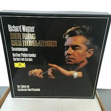 WAGNER The Ring of the Nibelungen - KARAJAN - Berlin - DG 19-LP BOXSET
