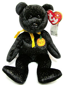 MINT with MINT TAG TY HAUNT the HALLOWEEN BEAR BEANIE BABY
