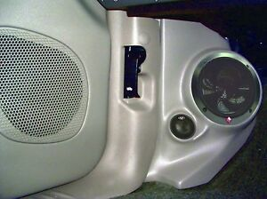 Image Is Loading Q Logic Custom Kick Panel Speaker Mounts Chevy