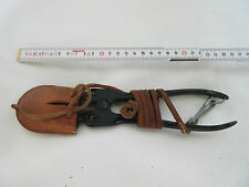 Sueca cortaalambres Swedish Wire Cutter Carrier Leather cover original wk2