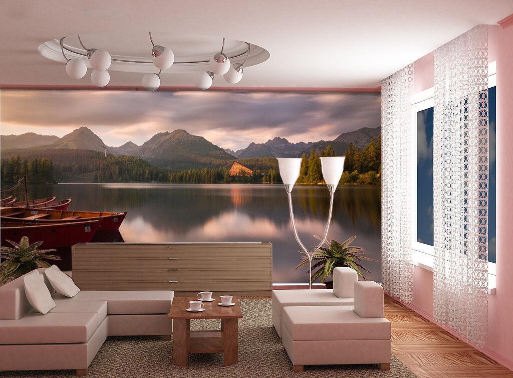 3D Landscape Lake 955 Wallpaper Mural Wall Print Wall Wallpaper Murals US Summer
