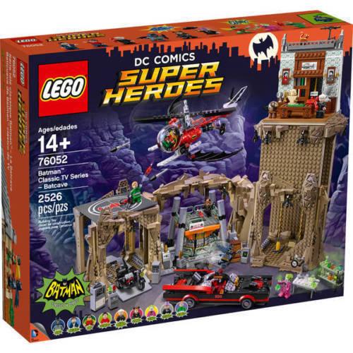 LEGO 76052 DC COMICS SUPER HEROES BATMAN CLASSIC BATCAVERNA NUOVO
