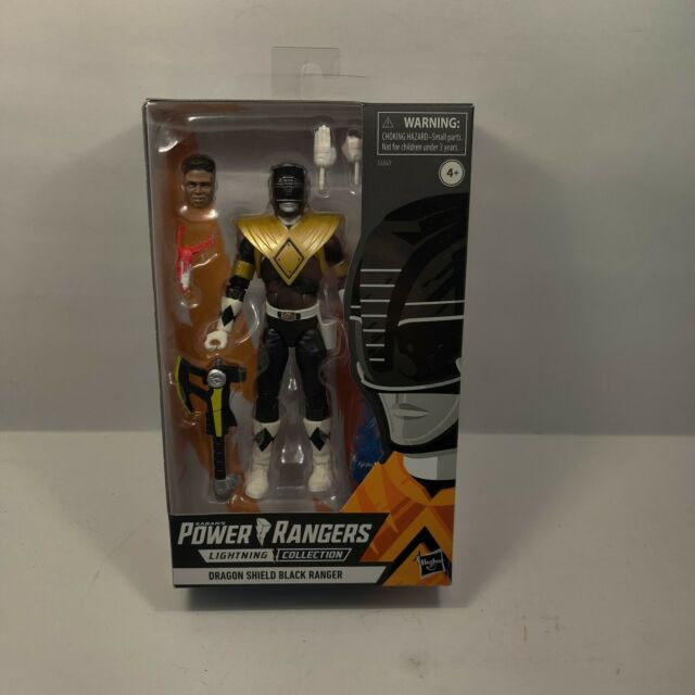 Hasbro Power Rangers Lightning Collection Dragon Shield Black Ranger Exclusive