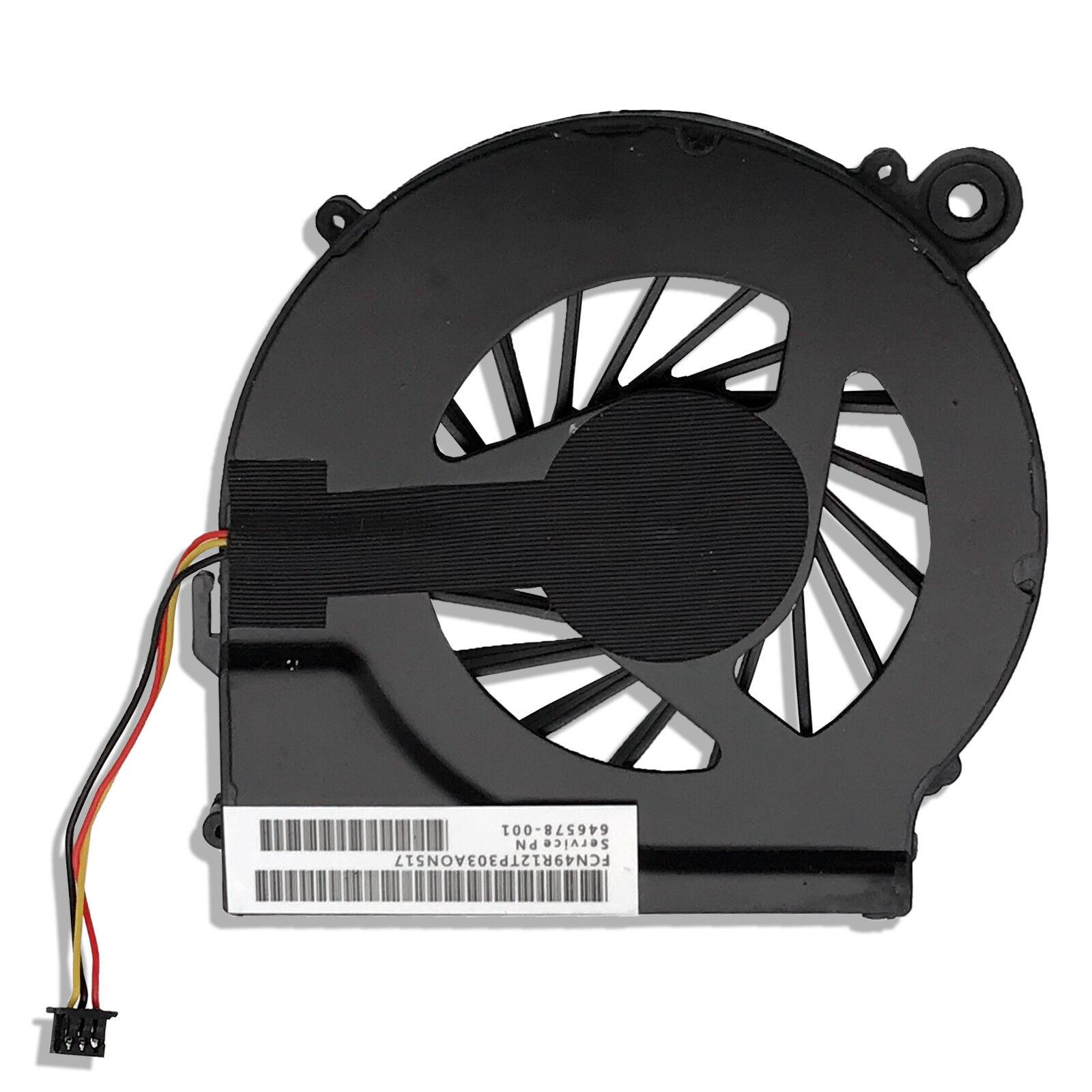 New For HP Compaq CQ56 CQ56-112 CQ56-115 AMD CPU Cooling Fan 643364-001