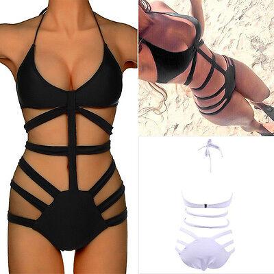 SUMMER Women's Padded One Piece Swimwear Monokini Push Up Bathing Bikini S M L *