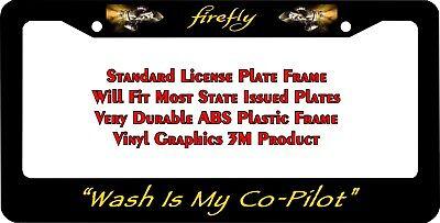 CAR TAG Serenity Firefly CUSTOM LICENSE PLATE