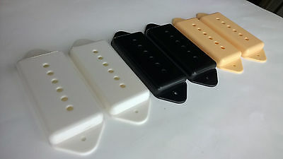 A Set of P-90 Dog-ear Pickup Covers 50//52mm Pole Spacing Cream
