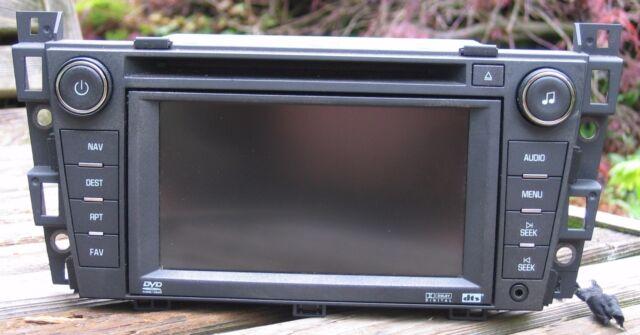 0608 Cadillac Dts Navigation Display Radio Stereo Dvd Cd Player Rhebay: Cadillac Dts Navigation Radio At Gmaili.net