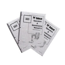 Bobcat T190 Track Loader Operation Amp Maintenance Manual Owners Book 1 6901109