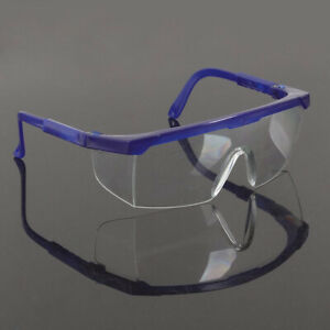 Outdoor Work Eye Protective Goggles Flexible Lab Factory Safety Glasses