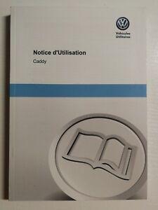 Anleitungen & Handbücher Treu Notice D'utilisation Vw Volkswagen Caddy 05/2013 French //816 GroßE Sorten