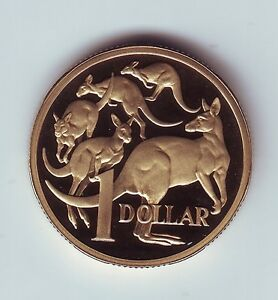2009-Australia-1-Proof-Coin-Kangaroo-out-of-a-Proof-Set