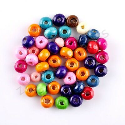Wholesale Nice Colorful Round Space Loose Bead Charms 3.5 5 7 8 10 12 14 16 mm