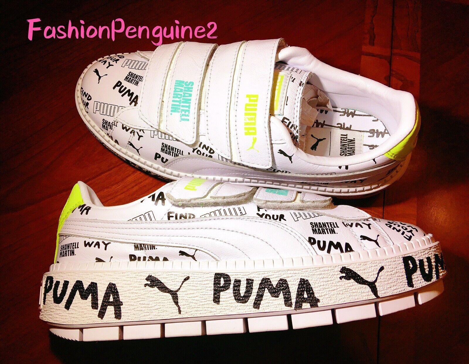 PUMA x SHANTELL MARTIN Platform Trace Strap Women's Sneakers LIMITED EDITION