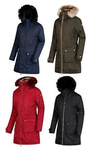 d6ee280648d30 Image is loading Regatta-Womens-Ladies-Long-Parka-Jacket-Lucasta-Insulated-