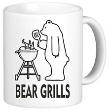 Bear Grills Funny Novelty Mug Cup Gift Secret Santa Xmas Gift Present