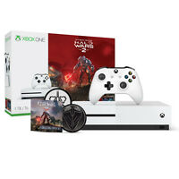 Xbox One S 1TB Halo Wars 2 Console Bundle + Halo Wars 2: Spirit of Fire Patch