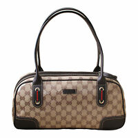 Gucci Crystal Princy Boston Bag Handbag