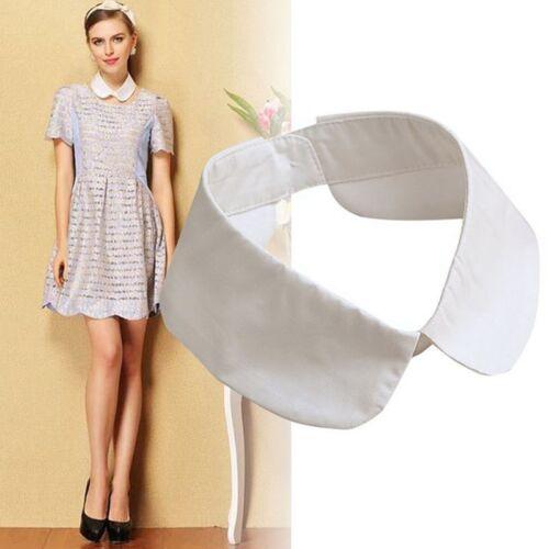 Classic Shirt Fake Collar Tie Vintage Detachable Collar False Lapel Blouse Top