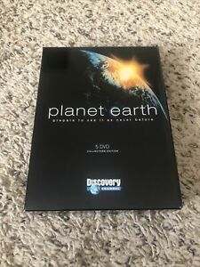 Planet Earth Discovery Channel Collectors Edition 5 DVD Set