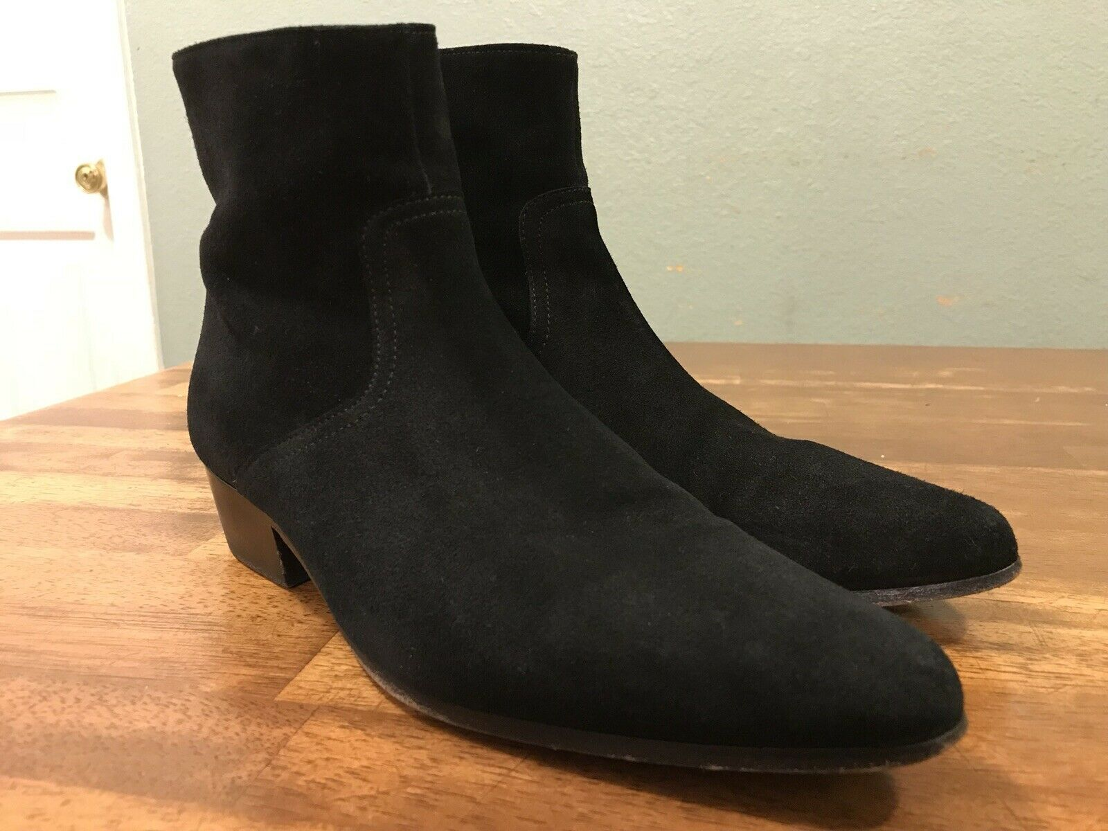 IRO Ankle Zip Boots Women's Size EUR 39 US 8 Made In Portugal