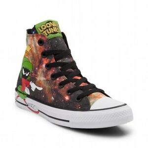 b2209a04a7c NEW Converse Chuck Taylor All Star Hi Looney Tunes Marvin The ...