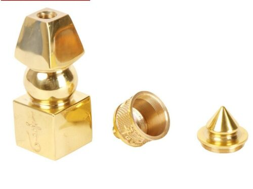 """6/"""" Feng Shui Brass 5 Element Pagoda Protection"""