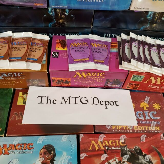 *Brand New Meta Boosters!* Magic the Gathering Booster Pack Bundles Lot MTG Fun