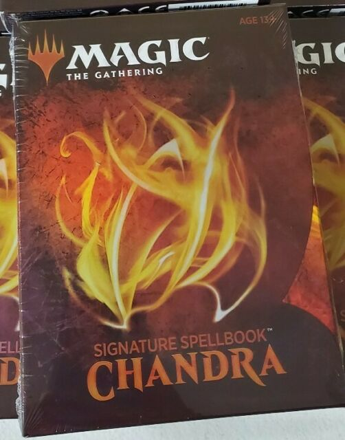 MTG Chandra Signature Spellbook - Magic the Gathering New+Sealed WOCC7842