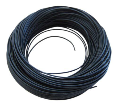 0,31€//m KFZ LKW Kabel Litze Leitung Flexible FLRy 0,75mm² 20m Schwarz Germany