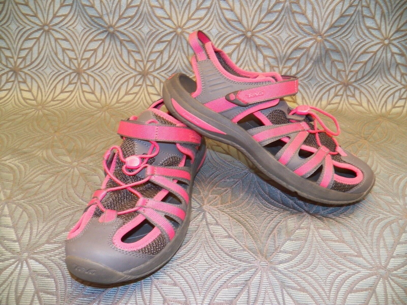 New Womens Teva Rosa Pink Waterproof Trail Hiking Sport Outdoor Camping Shoes