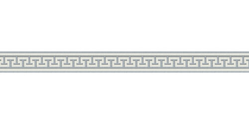 49,35£//1qm Wallpaper Border Greek cream Gloss self-adhesive 2813-19