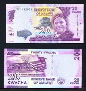 Malawi-01-01-2016-20-Kwacha-UNC