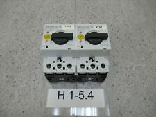VE:2Stk 2x Motorschutzschalter Klöckner Moeller PKZM0-2,5 Circuit Breaker 2,5A