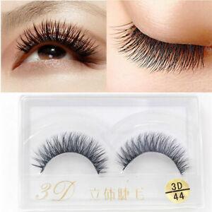 100-Real-3D-Mink-Fur-Hair-Natural-Long-Thick-Makeup-Eyelashes-Lashes-Eye-F-O7E6