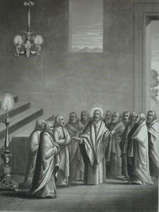 Jesus-Christ-Predit-a-Ses-Disciples-of-Persecutions-Gravure-of-1863