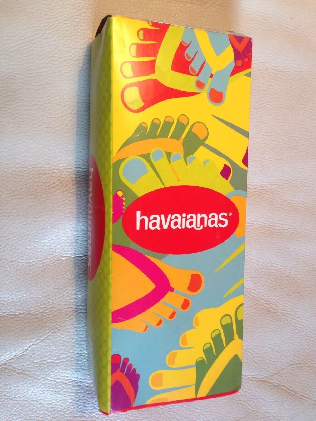 HAVAIANAS Slim Size 2 - 3 GIRLS WOMENS Flip Flops Sandals Shoes NEW Lady