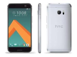 HTC-10-32GB-Glacier-Silver-5-2-034-Verizon-Used-Factory-Unlocked-4G-LTE-Smartphone